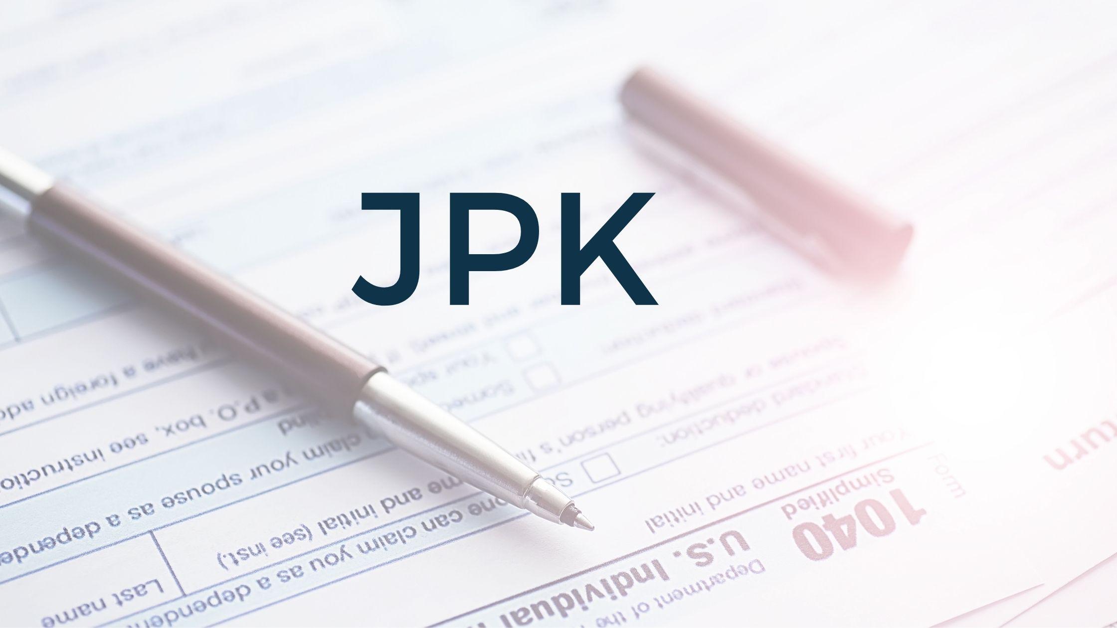jednolity plik kontorlny - JPK, JPK_VAT
